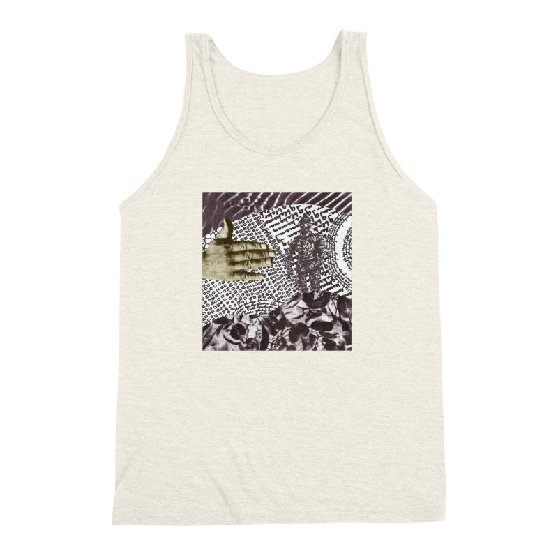 Wave Protection Men's Triblend Tank by Artist Shop of Pyramid Expander