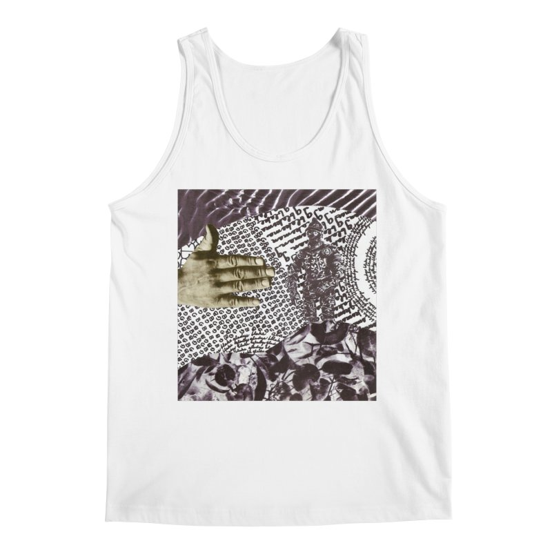 Wave Protection Men's Regular Tank by Artist Shop of Pyramid Expander