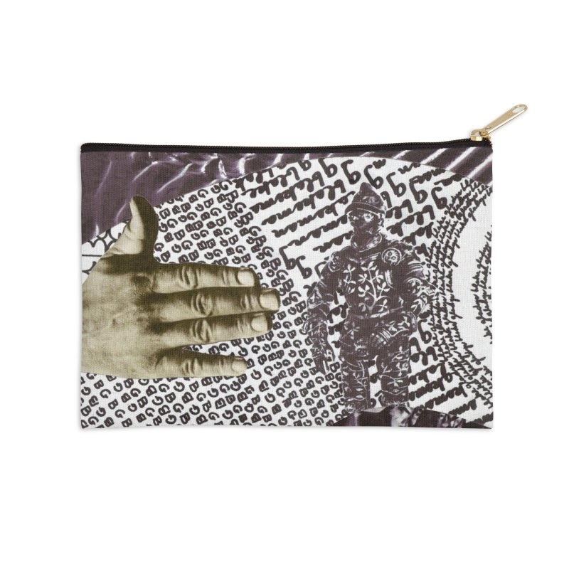 Wave Protection Accessories Zip Pouch by Artist Shop of Pyramid Expander