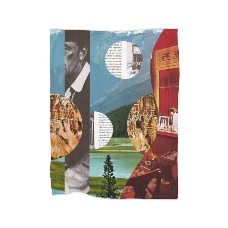 Memory Landscapes Home Fleece Blanket Blanket by Artist Shop of Pyramid Expander