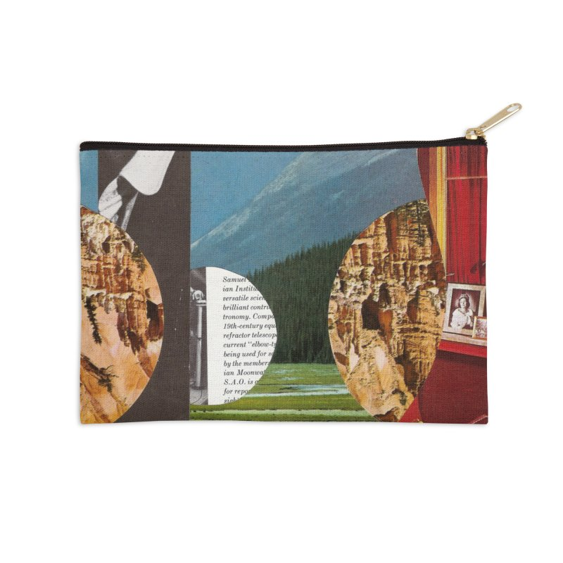 Memory Landscapes Accessories Zip Pouch by Artist Shop of Pyramid Expander