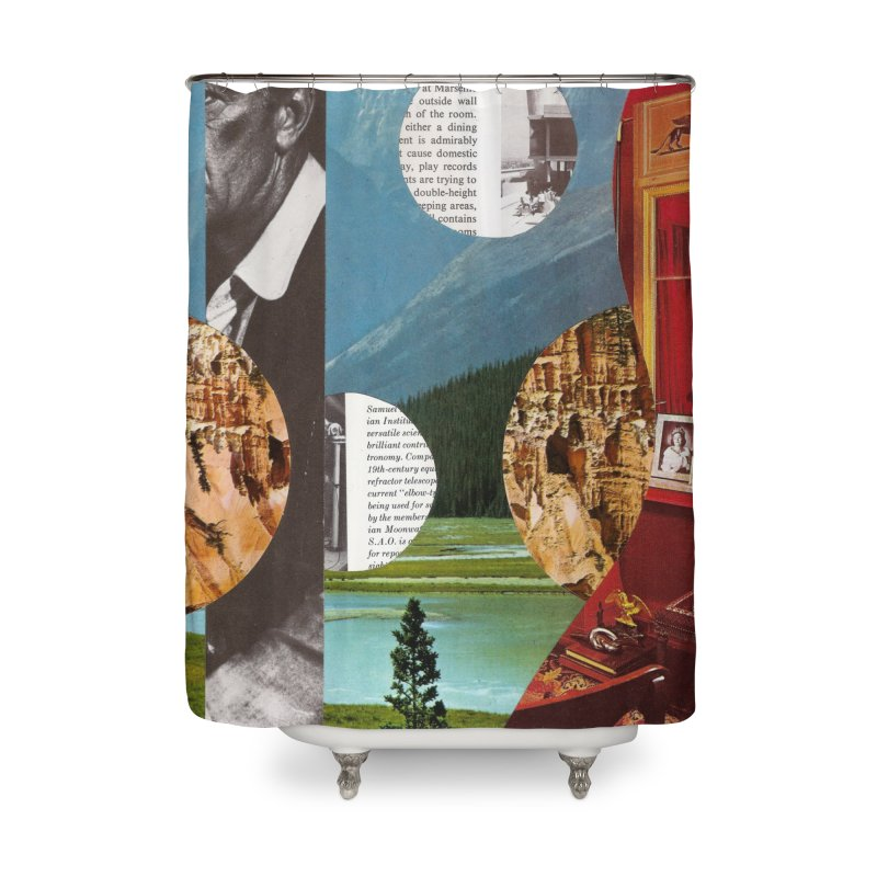 Memory Landscapes Home Shower Curtain by Artist Shop of Pyramid Expander