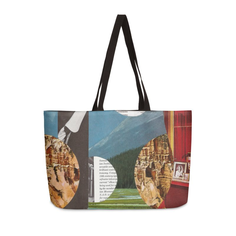Memory Landscapes Accessories Weekender Bag Bag by Artist Shop of Pyramid Expander