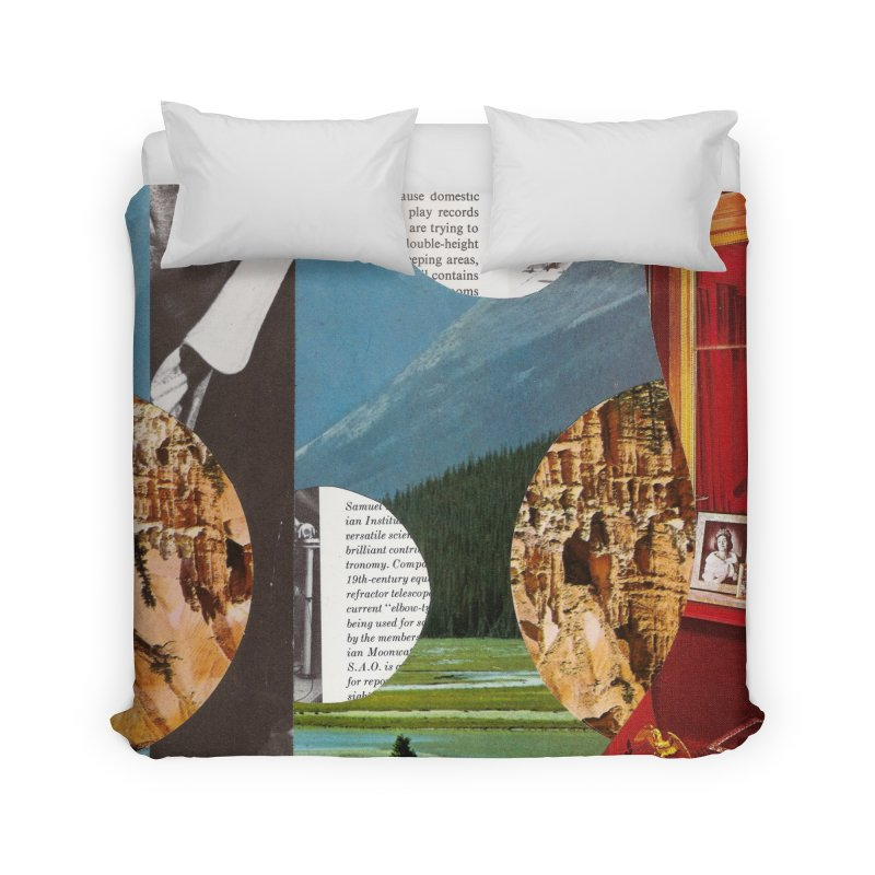 Memory Landscapes Home Duvet by Artist Shop of Pyramid Expander