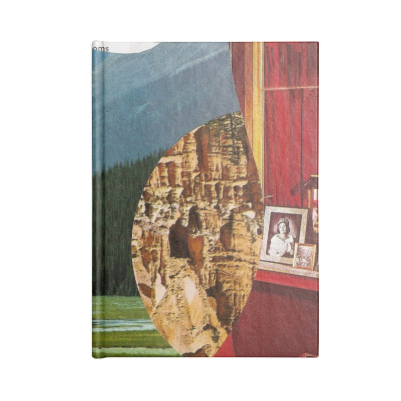 Memory Landscapes Accessories Blank Journal Notebook by Artist Shop of Pyramid Expander