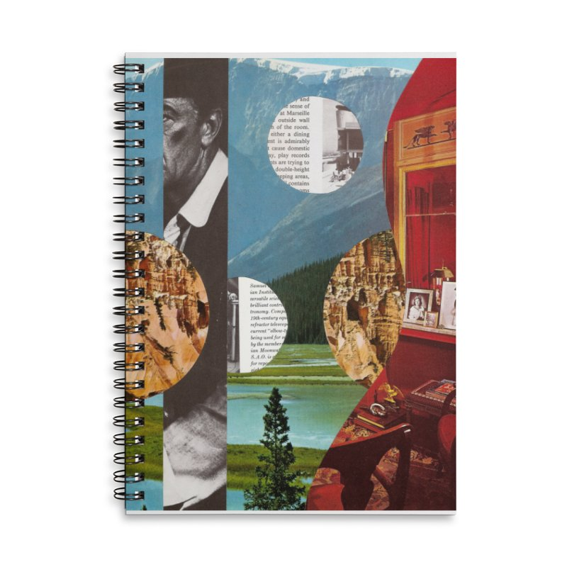 Memory Landscapes Accessories Lined Spiral Notebook by Artist Shop of Pyramid Expander