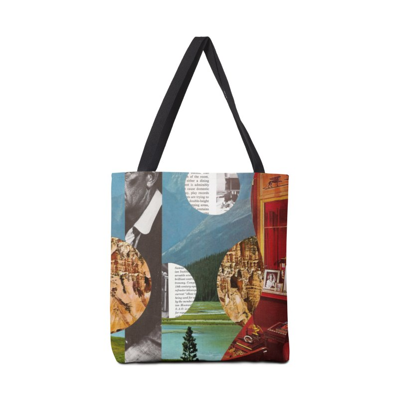 Memory Landscapes Accessories Tote Bag Bag by Artist Shop of Pyramid Expander