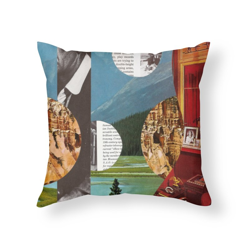 Memory Landscapes Home Throw Pillow by Artist Shop of Pyramid Expander