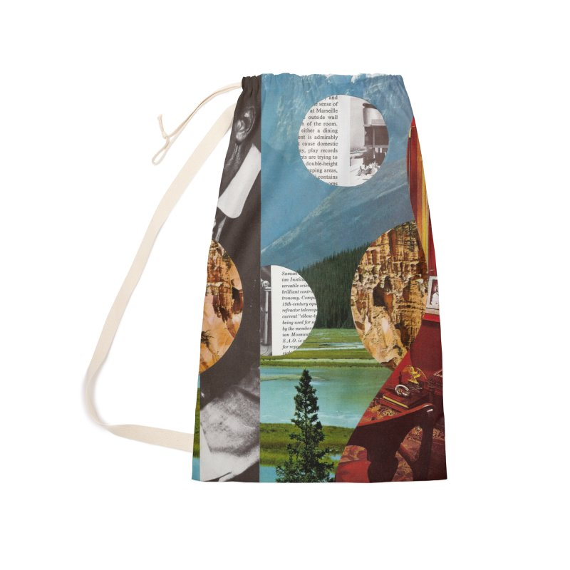 Memory Landscapes Accessories Laundry Bag Bag by Artist Shop of Pyramid Expander