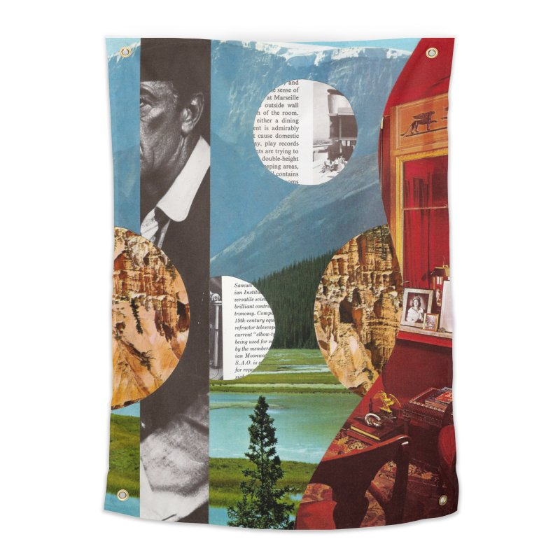 Memory Landscapes Home Tapestry by Artist Shop of Pyramid Expander