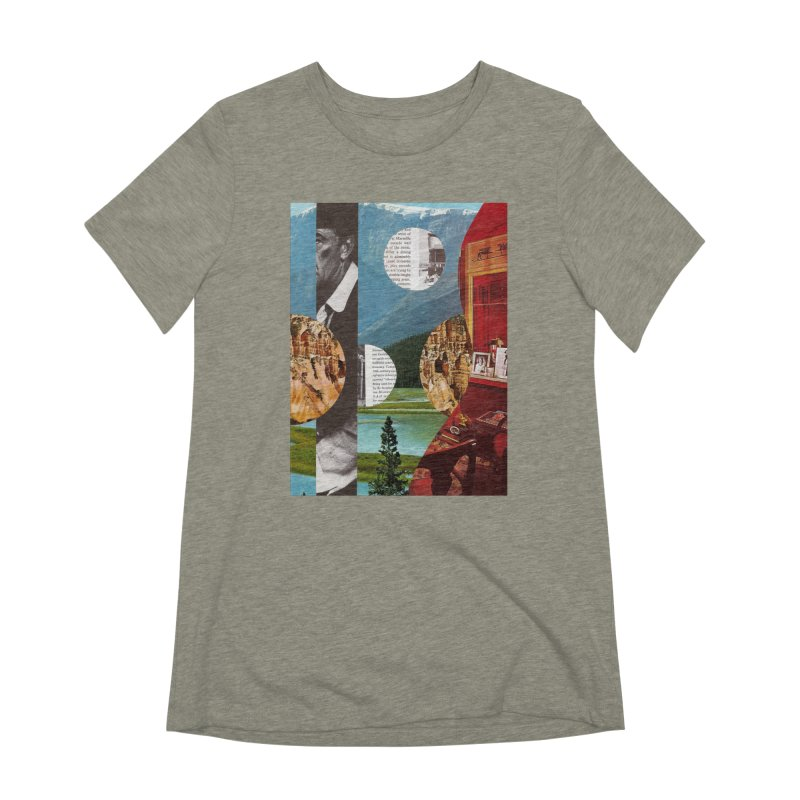 Memory Landscapes Women's Extra Soft T-Shirt by Artist Shop of Pyramid Expander