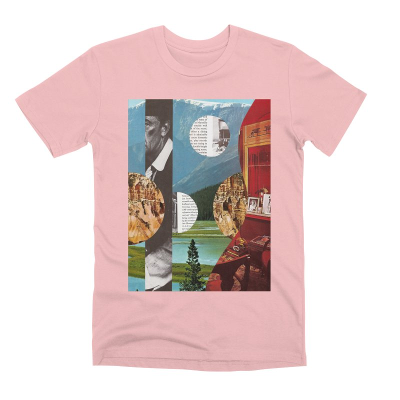 Memory Landscapes Men's Premium T-Shirt by Artist Shop of Pyramid Expander