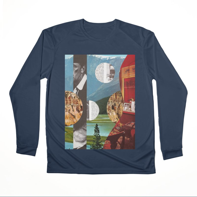 Memory Landscapes Men's Performance Longsleeve T-Shirt by Artist Shop of Pyramid Expander