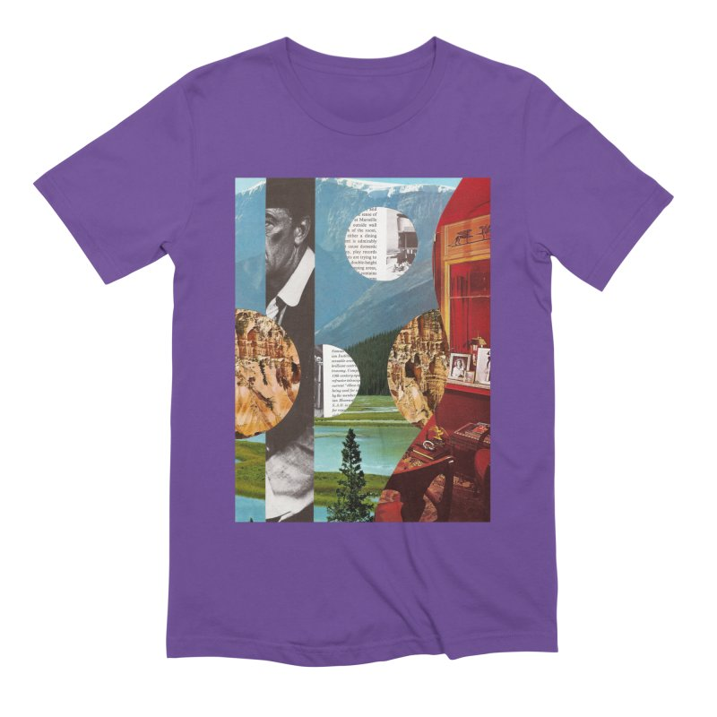 Memory Landscapes Men's Extra Soft T-Shirt by Artist Shop of Pyramid Expander