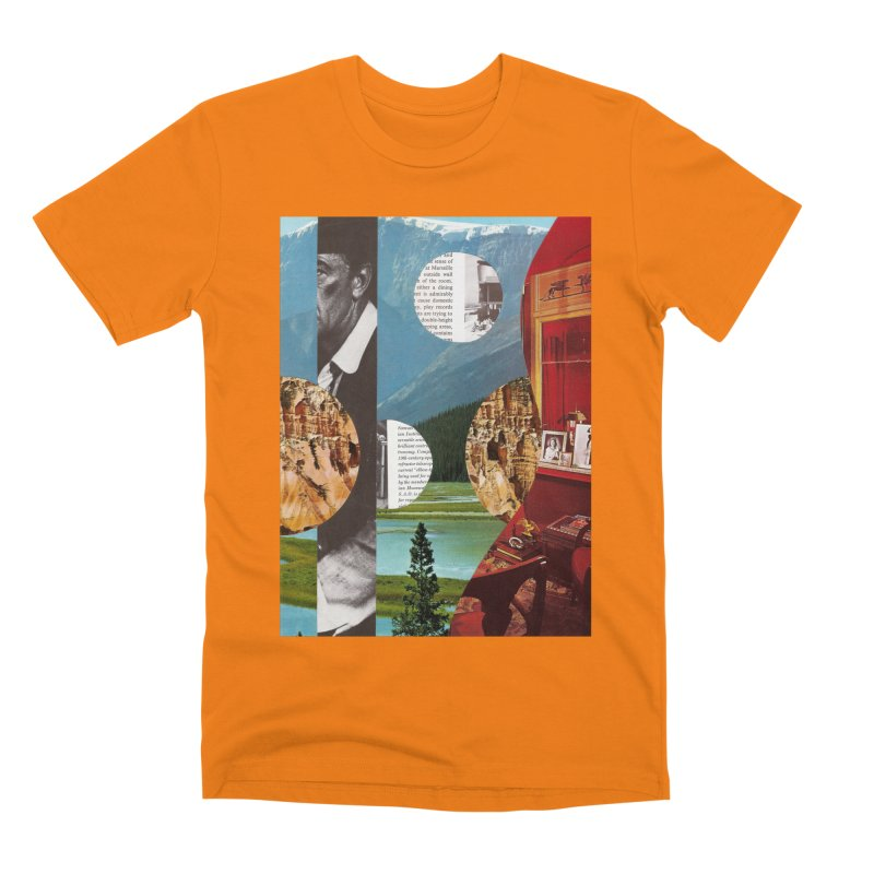 Memory Landscapes Men's Premium T-Shirt by Artist Shop of Pyramid Expander