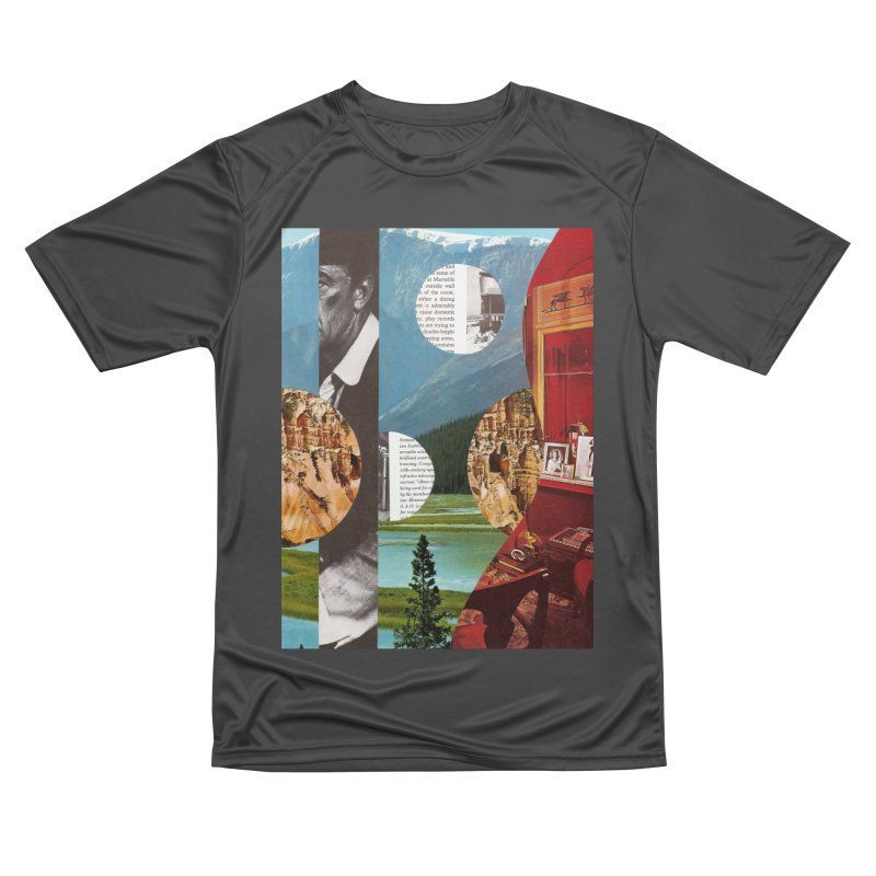 Memory Landscapes Men's Performance T-Shirt by Artist Shop of Pyramid Expander