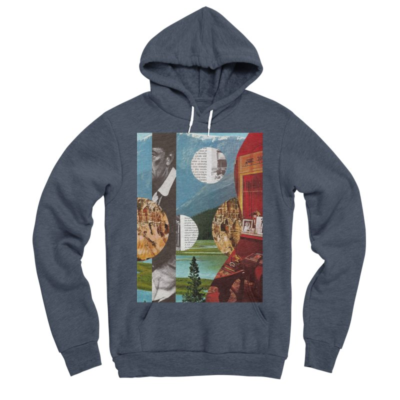 Memory Landscapes Men's Sponge Fleece Pullover Hoody by Artist Shop of Pyramid Expander