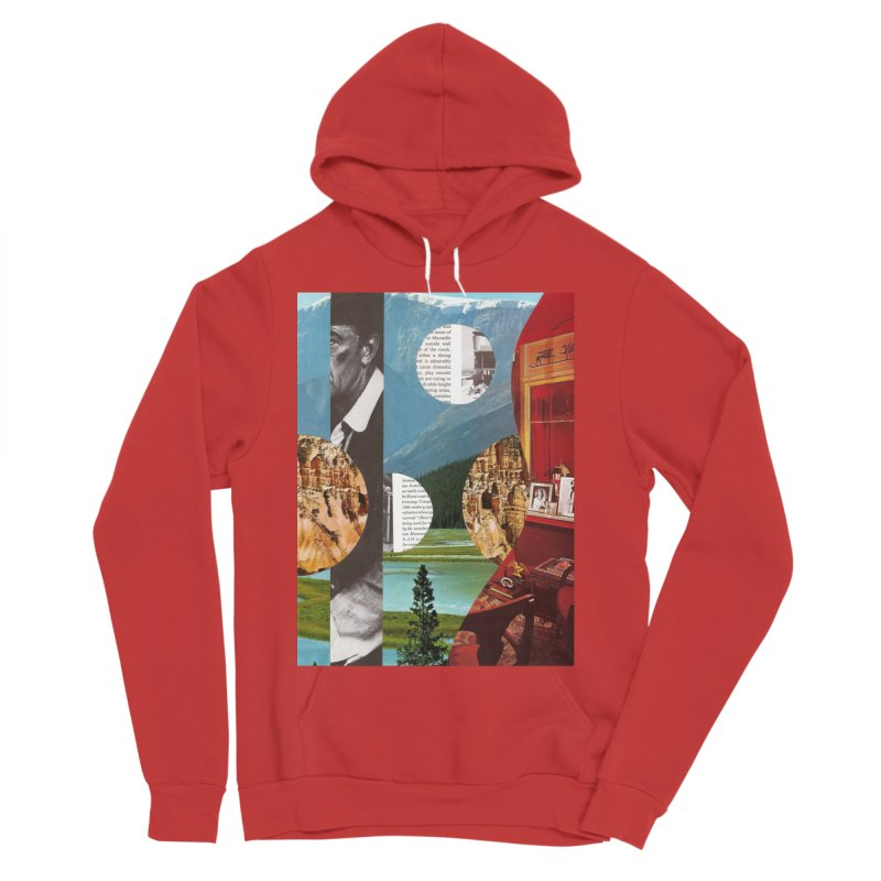 Memory Landscapes Women's Sponge Fleece Pullover Hoody by Artist Shop of Pyramid Expander