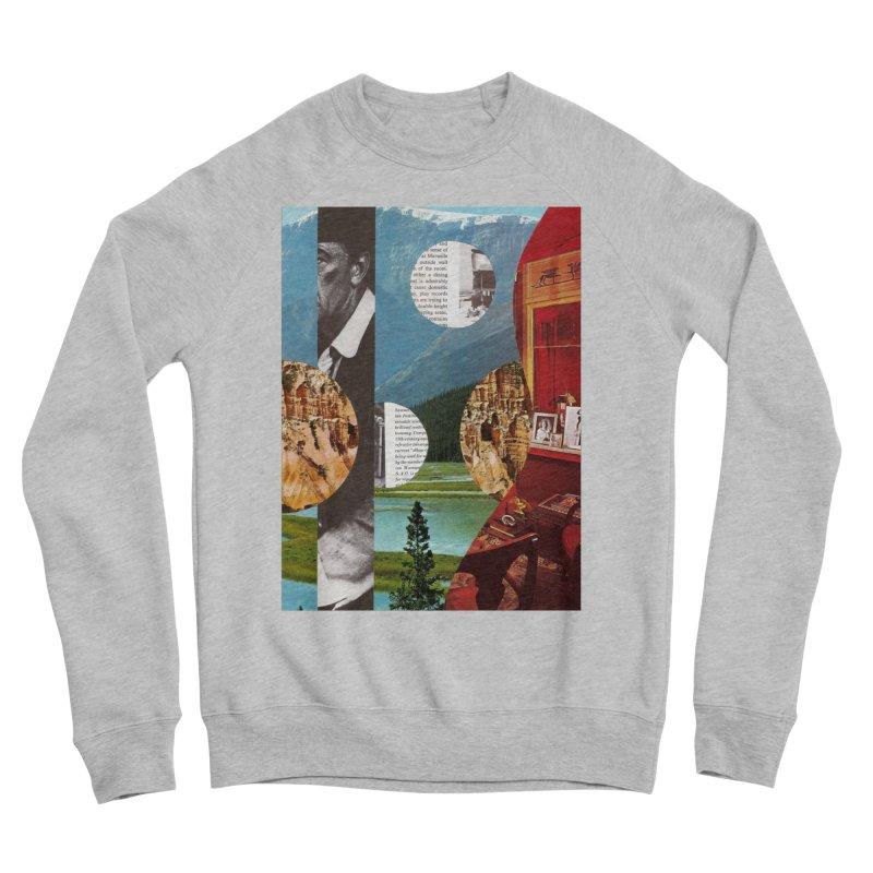 Memory Landscapes Women's Sponge Fleece Sweatshirt by Artist Shop of Pyramid Expander
