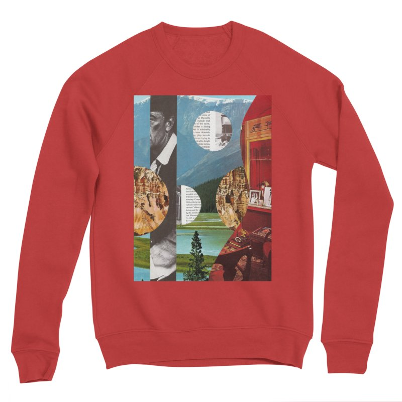 Memory Landscapes Women's Sponge Fleece Sweatshirt by Artist Shop of Pyramid Expander