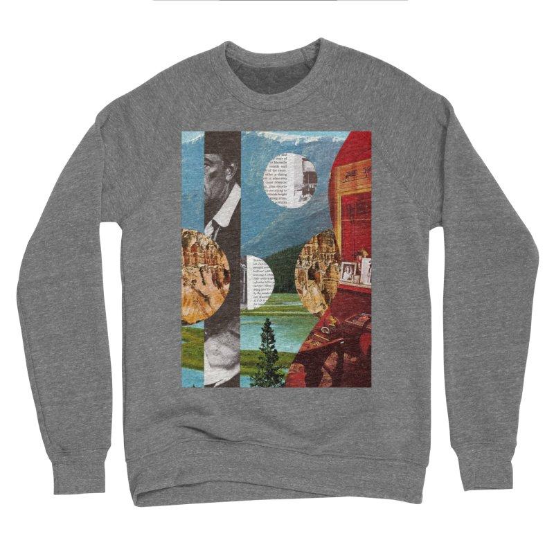 Memory Landscapes Men's Sponge Fleece Sweatshirt by Artist Shop of Pyramid Expander
