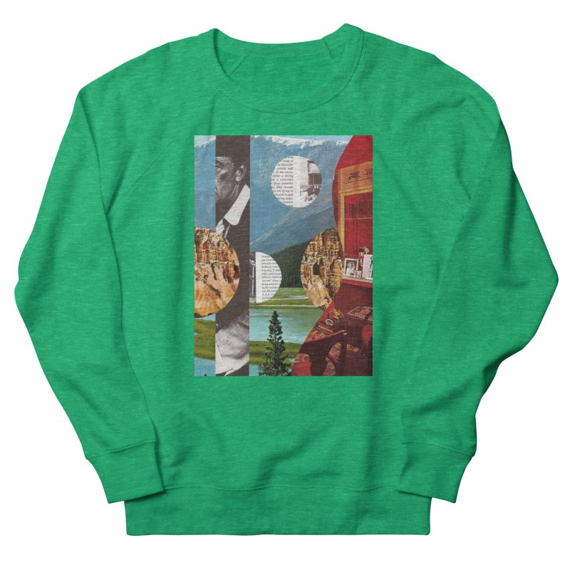 Memory Landscapes Women's Sweatshirt by Artist Shop of Pyramid Expander