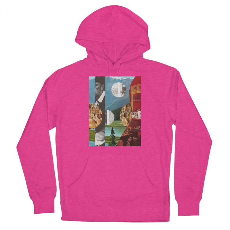 Memory Landscapes Women's French Terry Pullover Hoody by Artist Shop of Pyramid Expander