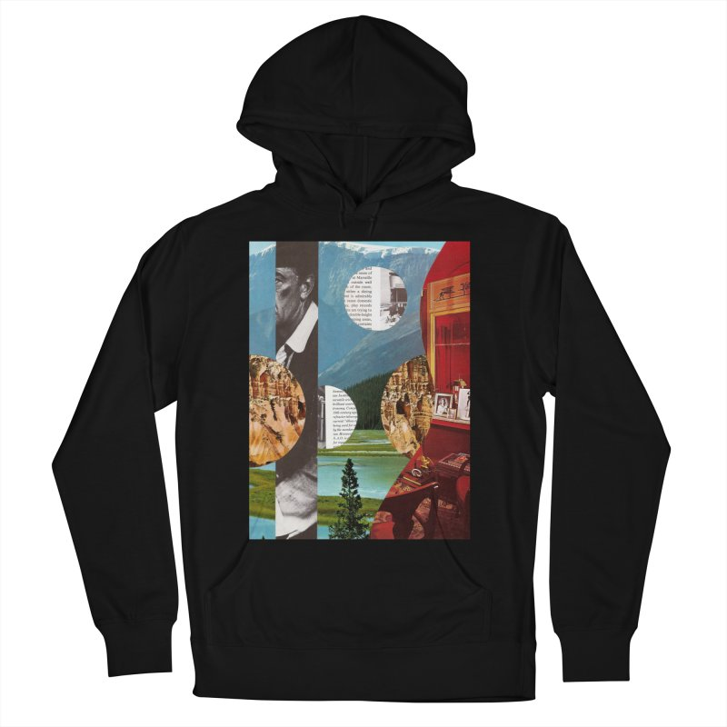 Memory Landscapes Men's French Terry Pullover Hoody by Artist Shop of Pyramid Expander
