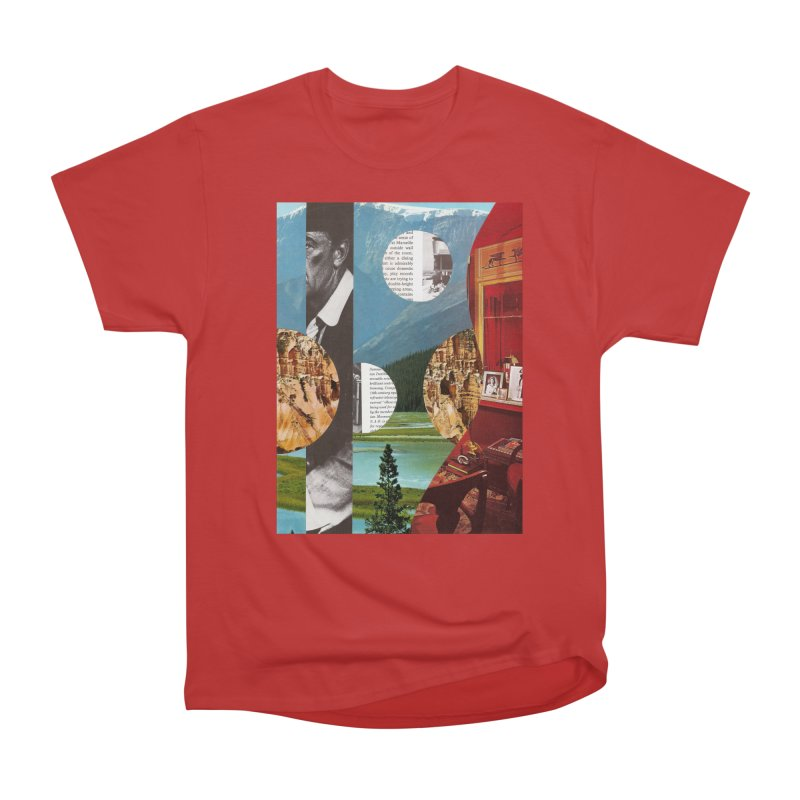 Memory Landscapes Men's Heavyweight T-Shirt by Artist Shop of Pyramid Expander