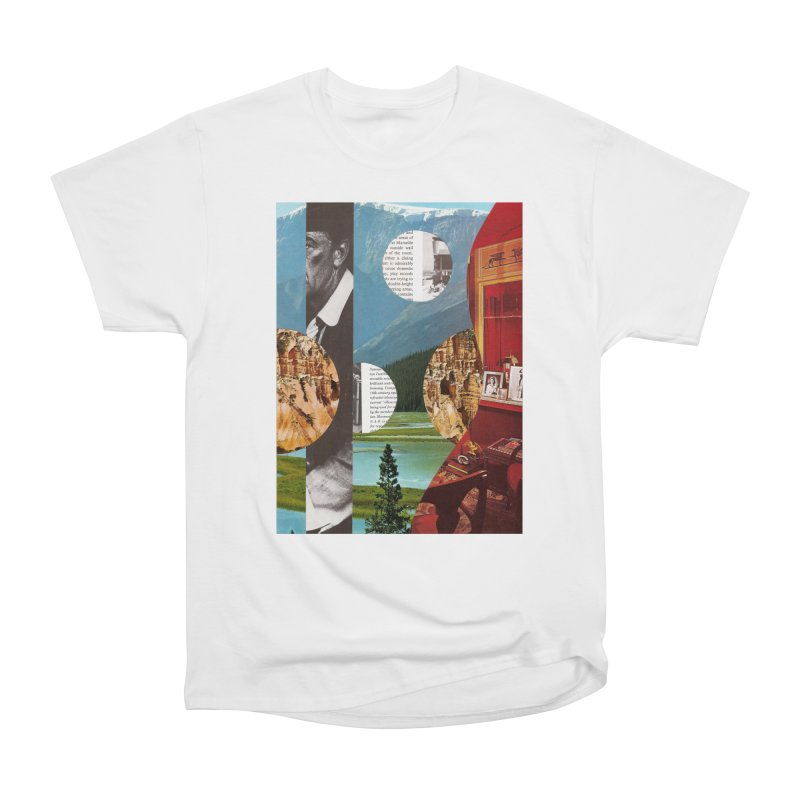Memory Landscapes Women's Heavyweight Unisex T-Shirt by Artist Shop of Pyramid Expander