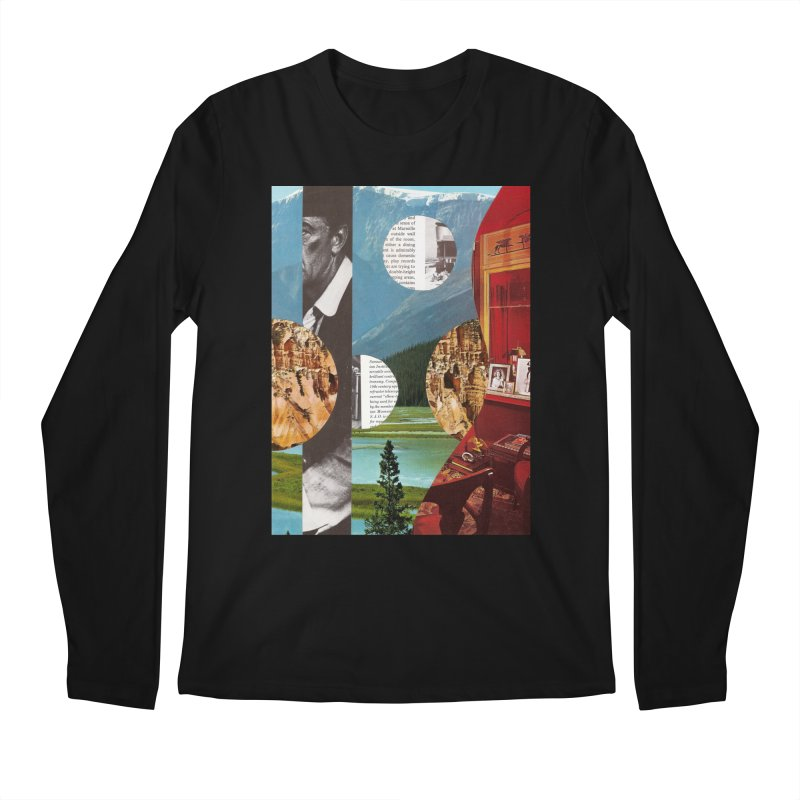 Memory Landscapes Men's Regular Longsleeve T-Shirt by Artist Shop of Pyramid Expander