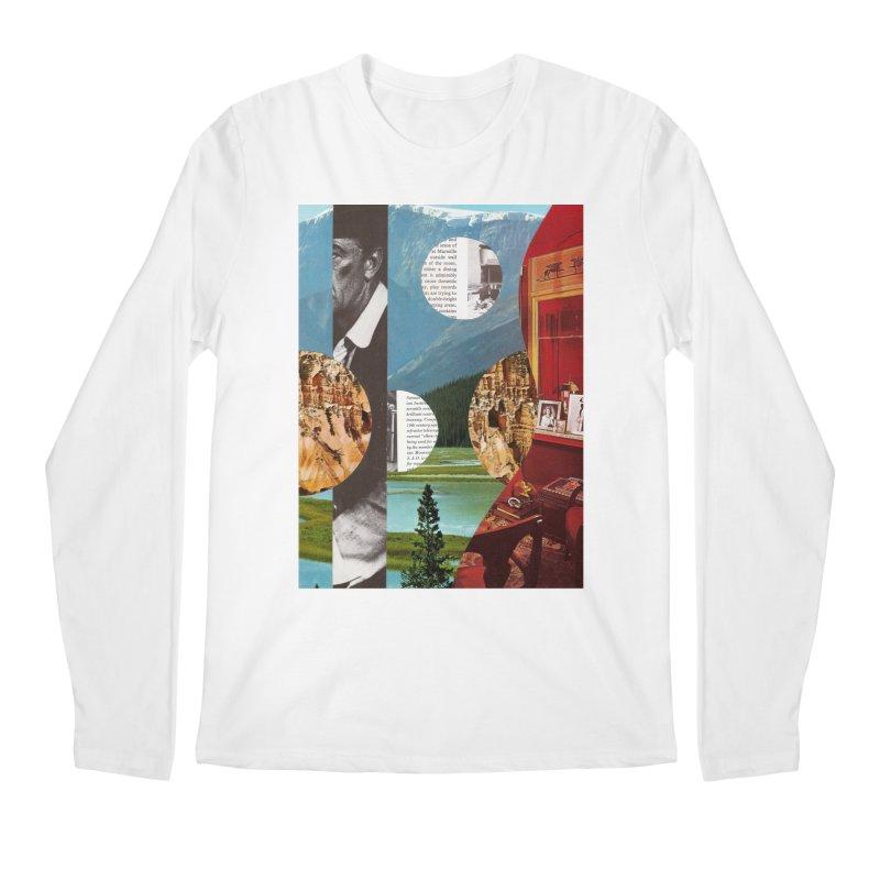 Memory Landscapes Men's Regular Longsleeve T-Shirt by Artist Shop of Pyramid Expander