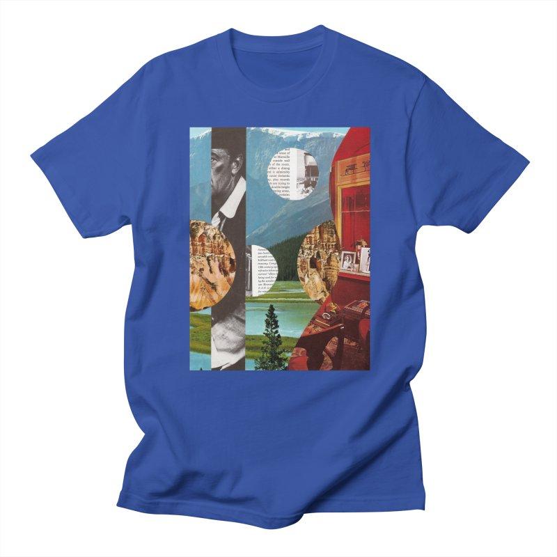 Memory Landscapes Men's Regular T-Shirt by Artist Shop of Pyramid Expander