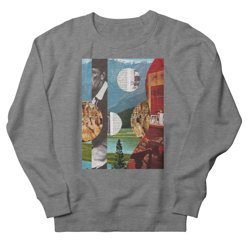 Memory Landscapes Women's French Terry Sweatshirt by Artist Shop of Pyramid Expander