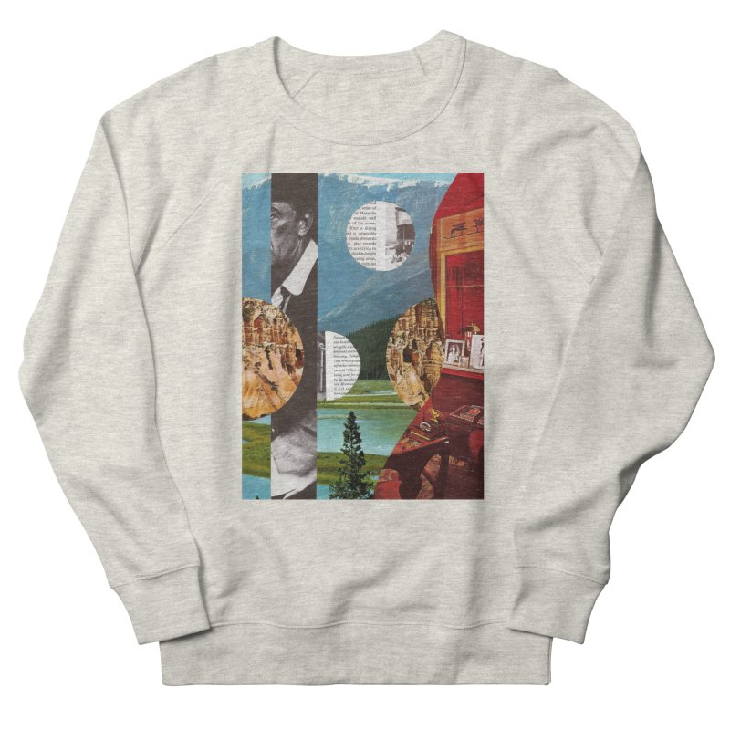 Memory Landscapes Men's French Terry Sweatshirt by Artist Shop of Pyramid Expander