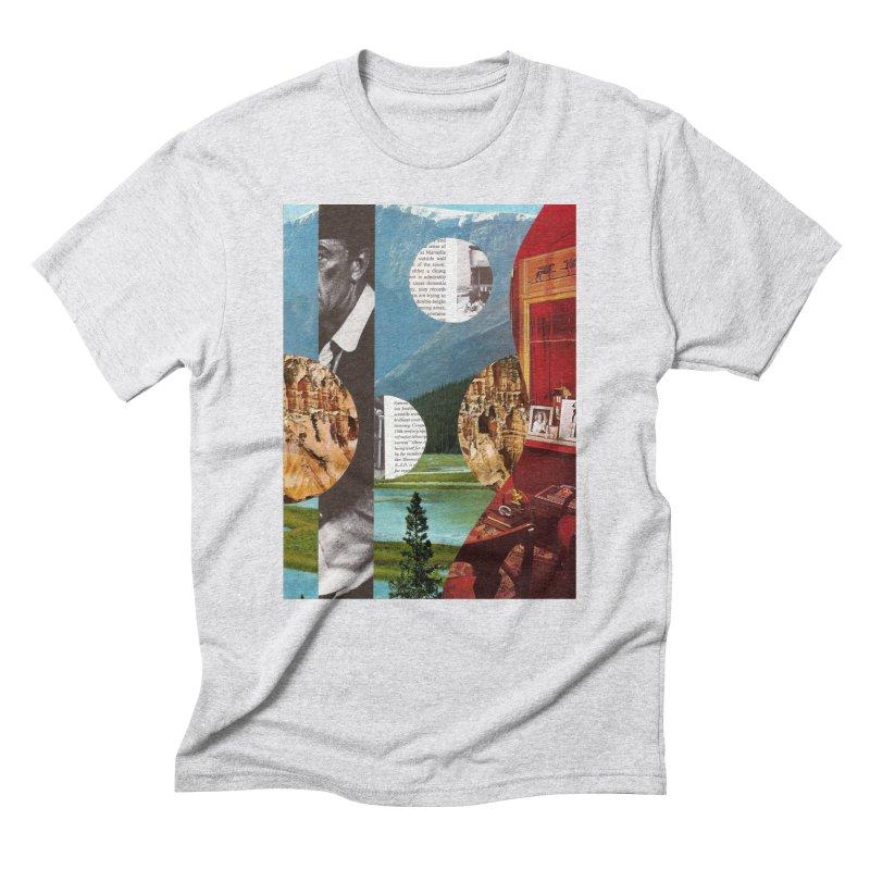 Memory Landscapes Men's Triblend T-Shirt by Artist Shop of Pyramid Expander