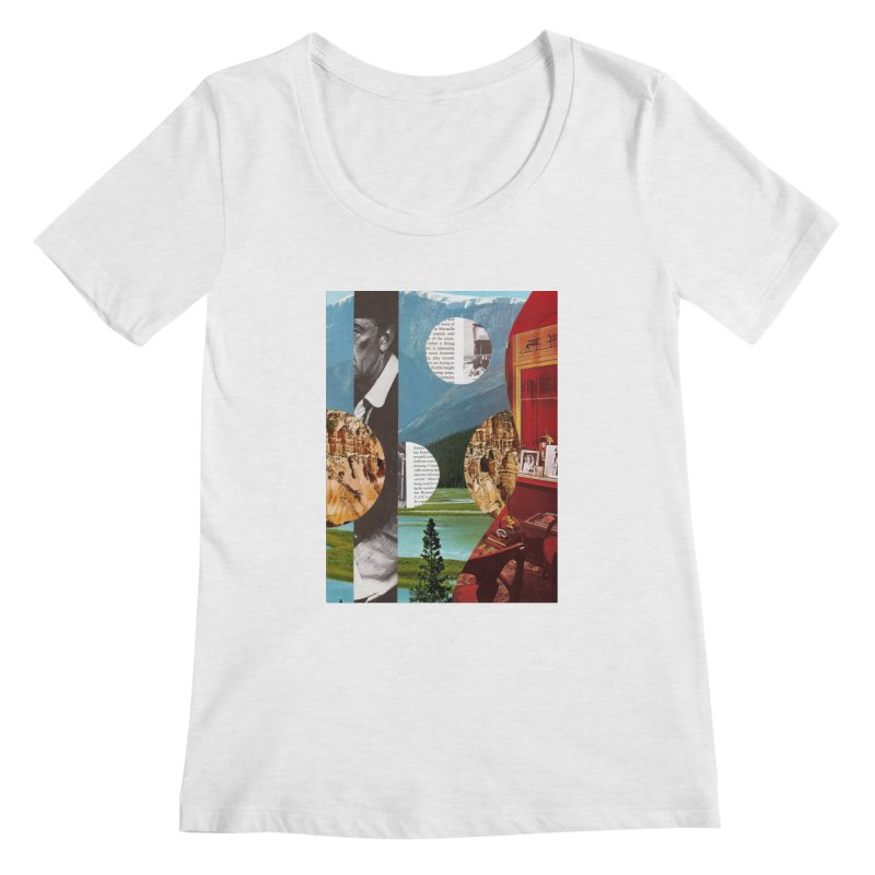 Memory Landscapes Women's Scoop Neck by Artist Shop of Pyramid Expander