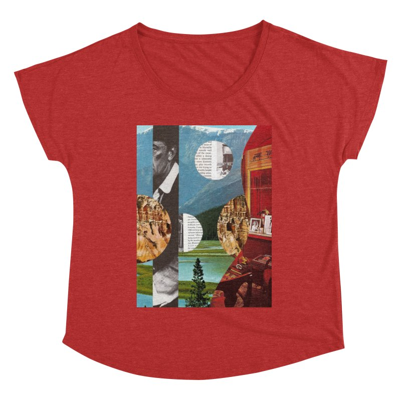 Memory Landscapes Women's Dolman Scoop Neck by Artist Shop of Pyramid Expander