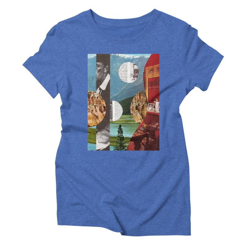 Memory Landscapes Women's Triblend T-Shirt by Artist Shop of Pyramid Expander