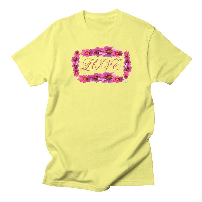 LOVE EMBRACED in Men's Regular T-Shirt Lemon by PZTV ART CO's Artist Shop