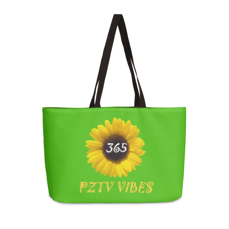 365 PZTV VIBES in Weekender Bag by PZTV ART CO's Artist Shop
