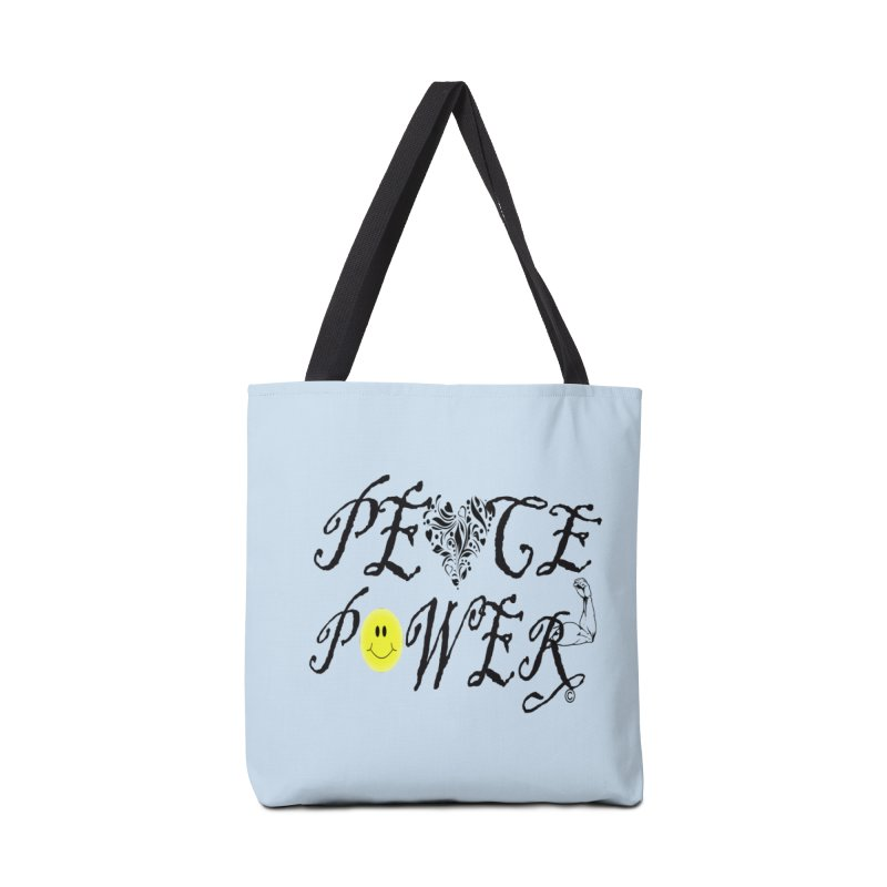 PEACE POWER 01 in Tote Bag by PZTV ART CO's Artist Shop