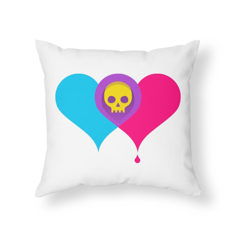 Such Sweet Sorrow Home Throw Pillow by Quick Brown Fox