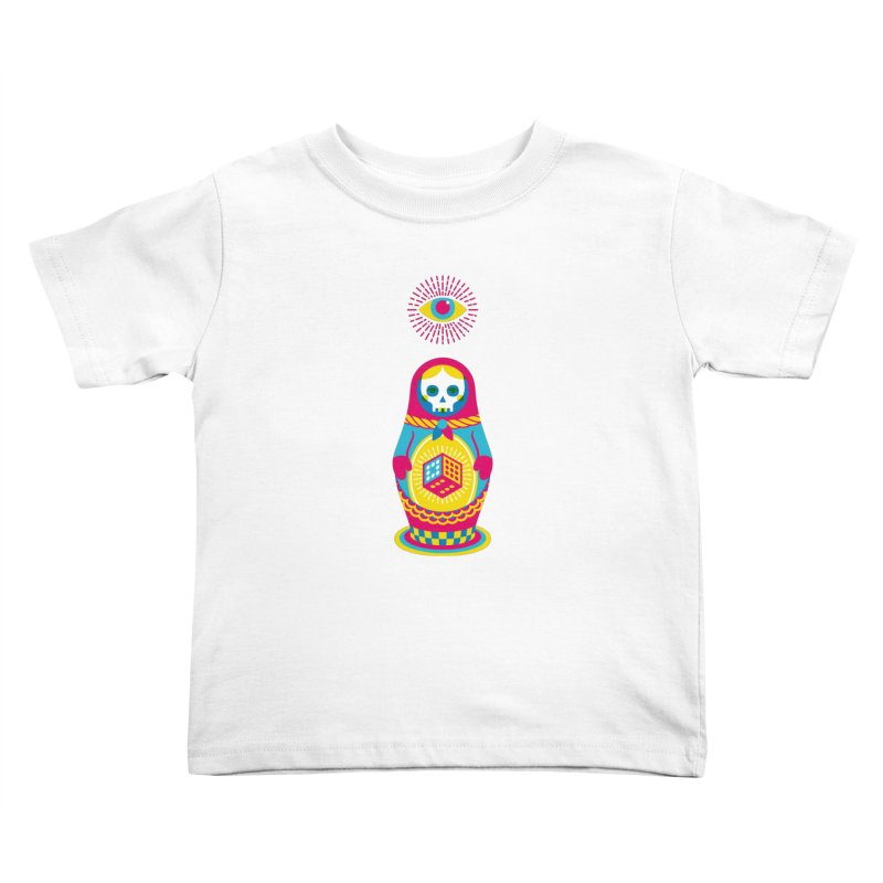 Blind Faith Kids Toddler T-Shirt by Quick Brown Fox