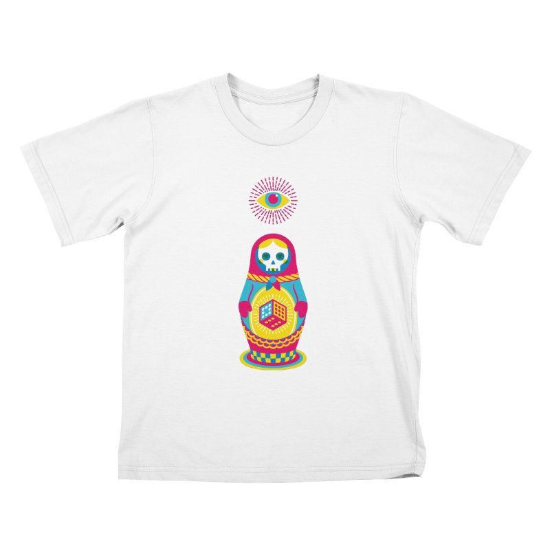 Blind Faith Kids T-shirt by Quick Brown Fox