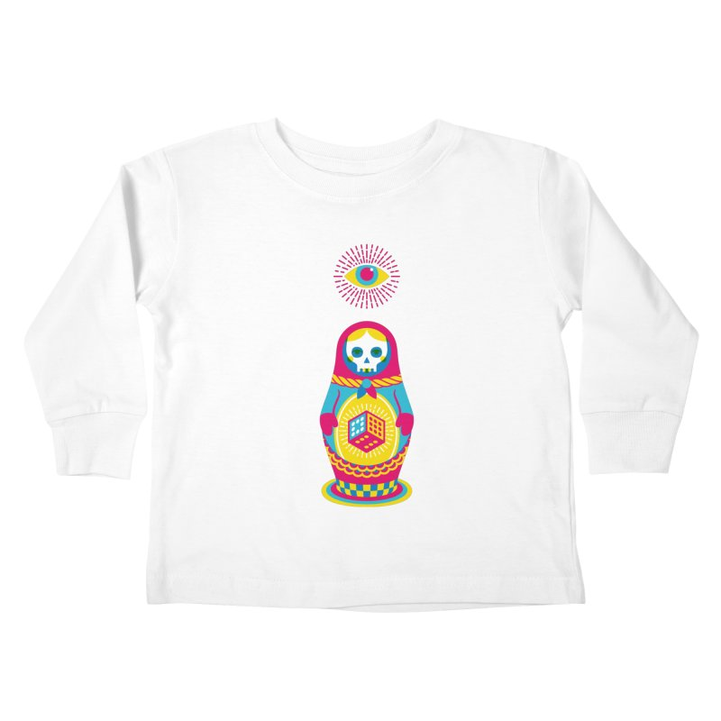Blind Faith Kids Toddler Longsleeve T-Shirt by Quick Brown Fox