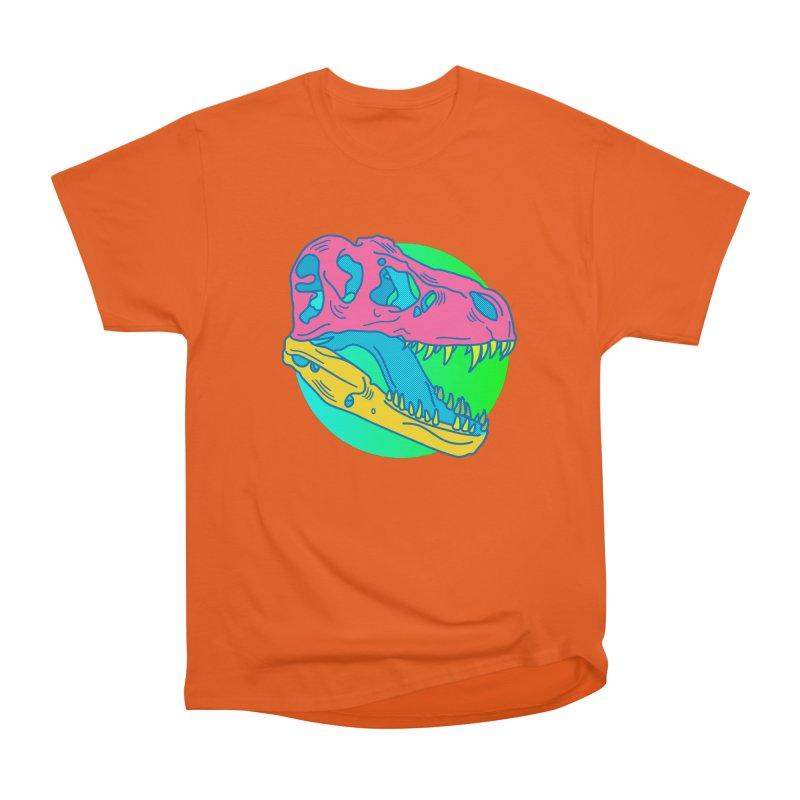 Sickasaurus Rex Women's Heavyweight Unisex T-Shirt by Quick Brown Fox