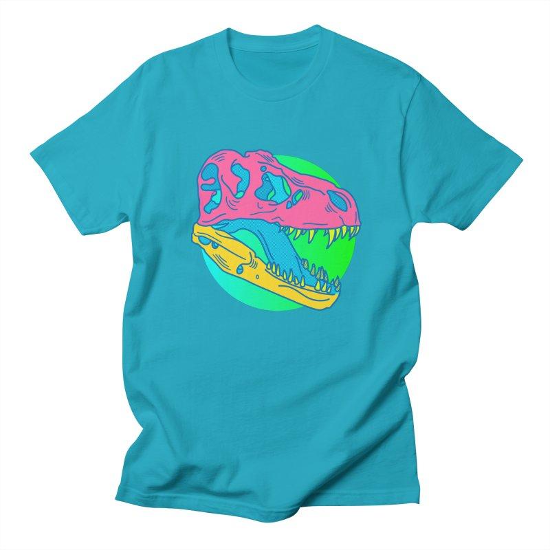 Sickasaurus Rex Men's Regular T-Shirt by Quick Brown Fox