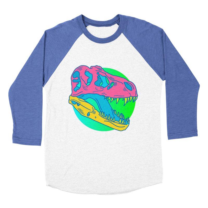 Sickasaurus Rex Men's Baseball Triblend Longsleeve T-Shirt by Quick Brown Fox