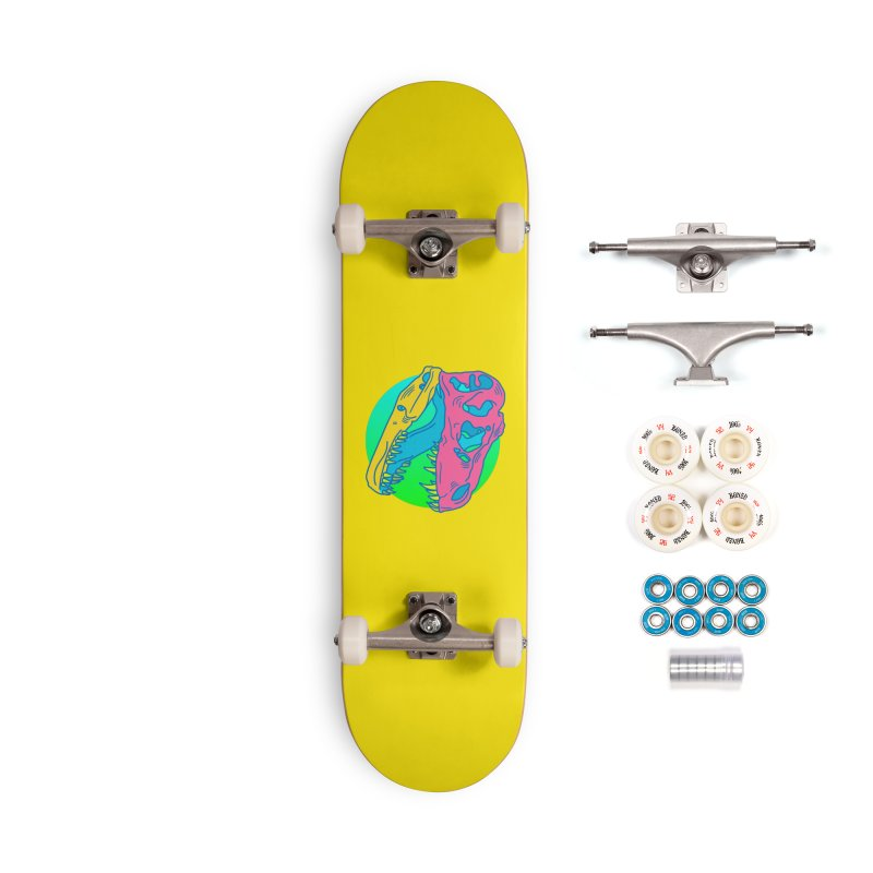 Sickasaurus Rex Accessories Complete - Premium Skateboard by Quick Brown Fox